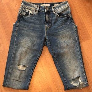 Mavi Alissa High Rise Super Skinny Jeans